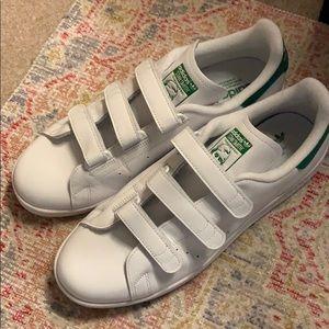 Adidas Stan Smith 3 Velcro Size 12 Men's shoes.